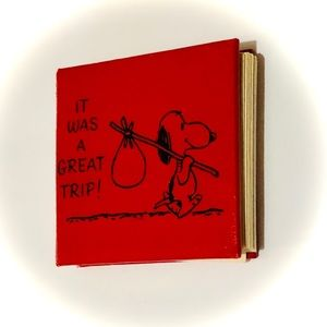 Vintage 1967 Hallmark Snoopy Photo Album